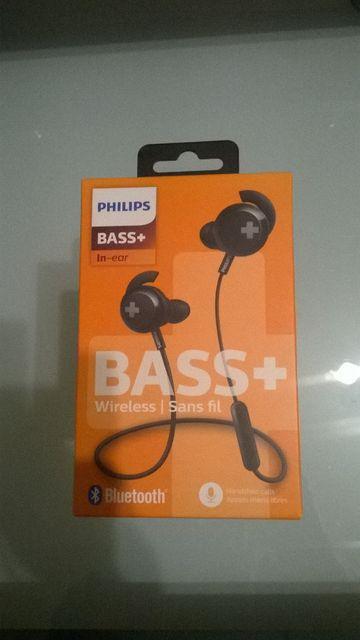 Słuchawki bezprzewodowe Philips Bass+