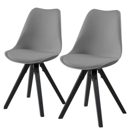 Krzesło do kuchni salonu Gris 2 szt. M013