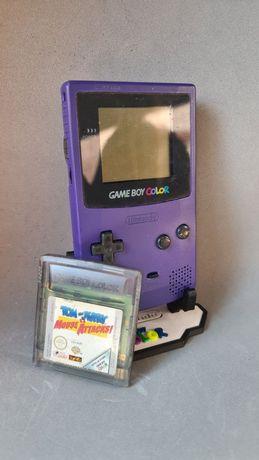 Game Boy Colour Roxa + Jogo Tom and Jerry
