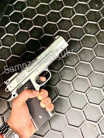 Страйкбольный Пистолет Кольт 1911 металл + 1000 пуль