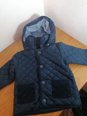 Parka  + casaco 3-6 meses
