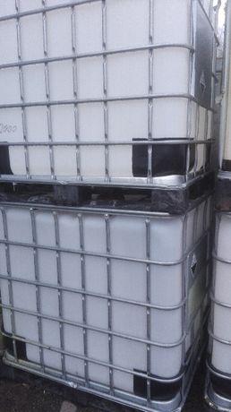 Zbiornik Mauzer Beczki na pomost kosz paletowy nadstawka giterbox