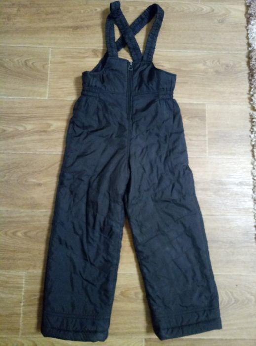 Продам чёрный комбинезон,полукомбинезон,зимние штаны Харьков - изображение 1