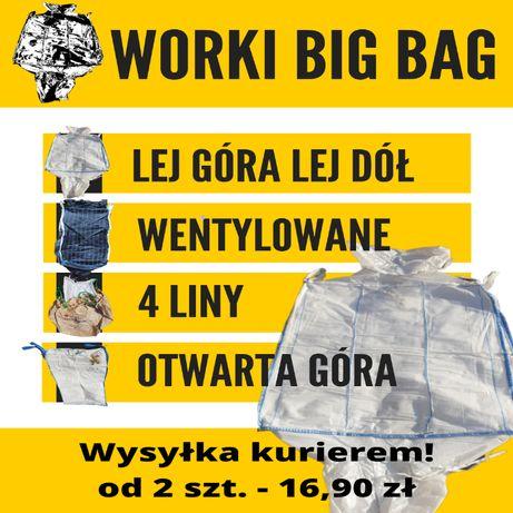 Worki Big Bag rożne rozmiary, wysyłka kurierem