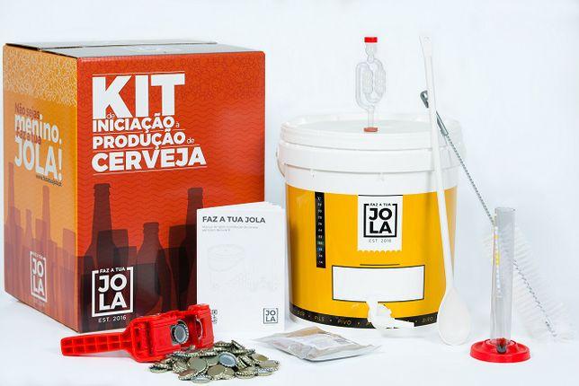 Kit de Iniciação - Produção de cerveja artesanal