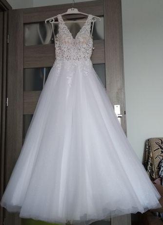 Suknia ślubna MELODY biała
