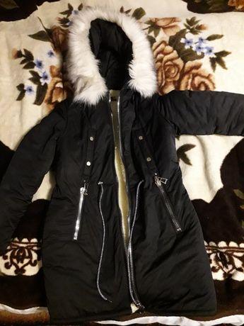 Куртка  зимова чорна