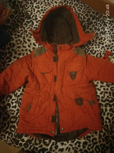 Куртка на холодную осень 92-104