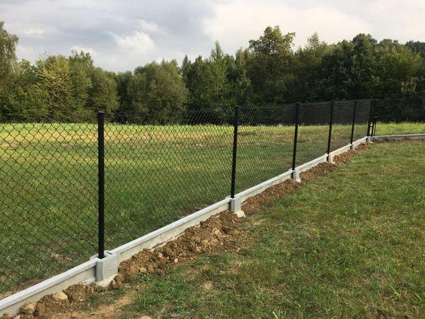 Siatka ogrodzeniowa ocynkowana oczko 65 x 65 wysokość 130 cm fi 3,5mm