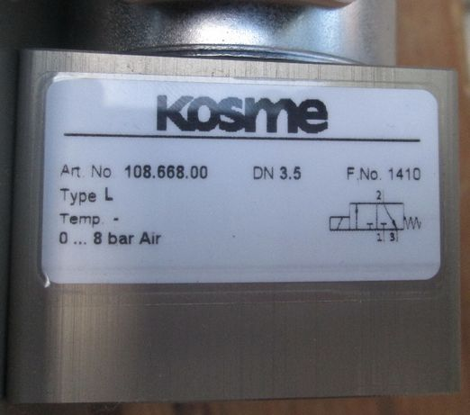 Пневмоклапан KOSME HD 200A