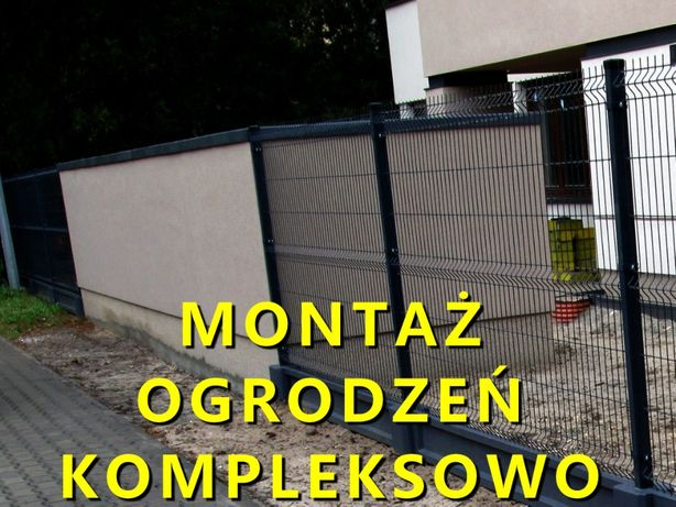 Panele ogrodzeniowe montaż-sprzedaż , ogrodzenia panelowe z montażem