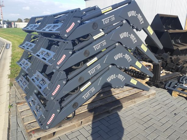 Producent ładowacz czołowy Wol-Met tur C 330 c360 montaż dowóz 3 sek e