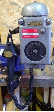 Telefon na ścianę górniczy iskrobezpieczny przeciwwybuchowy aluminiowy