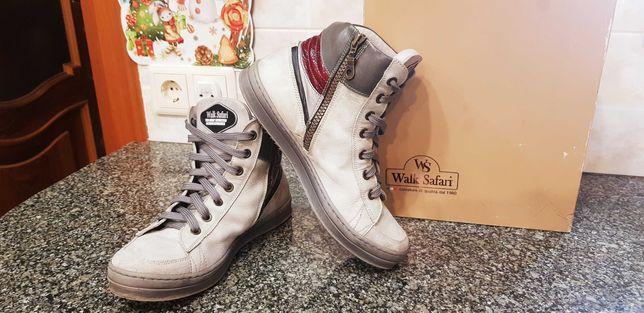 Продам демисезонные ботинки Walk Safari 24см