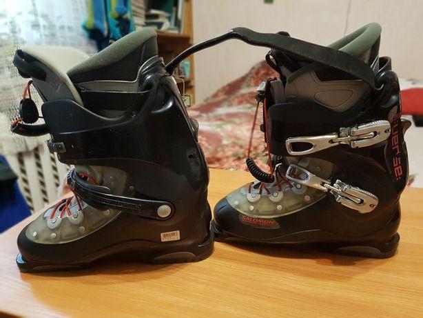 Продам горнолыжные ботинки Salomon 60-80