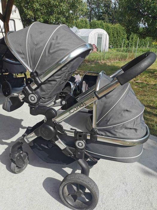 Wózek dziecięcy rok po roku wózek bliźniaczy Bronice - image 1