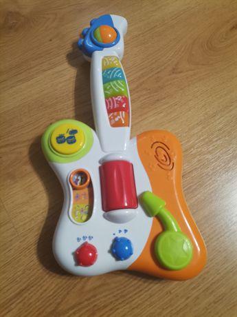 Zabawki muzyczne organki gitara mikrofon