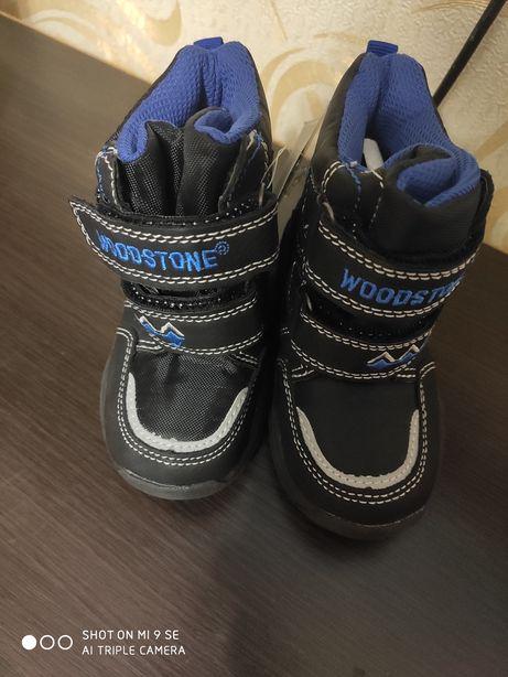 Woodstone чоботи термо сапожки