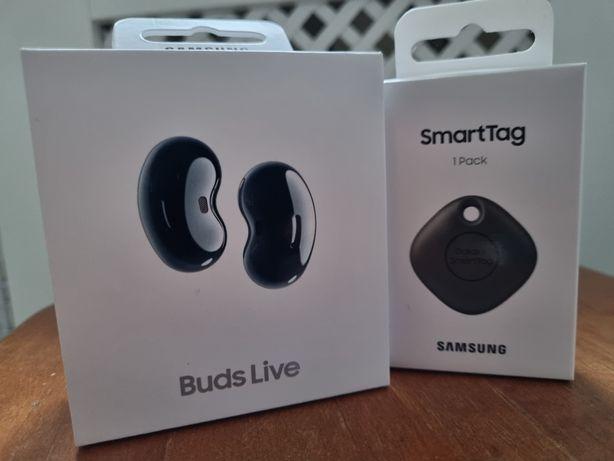Samsung Galaxy Buds Live + Samsung Galaxy Smart Tag