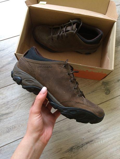 Ботинки merrell кожаные, оригинал, кроссовки