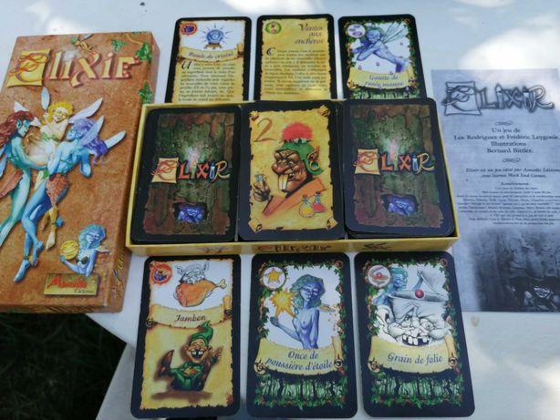 Jogo em francês-Elixir-un jeu de cartes especiales