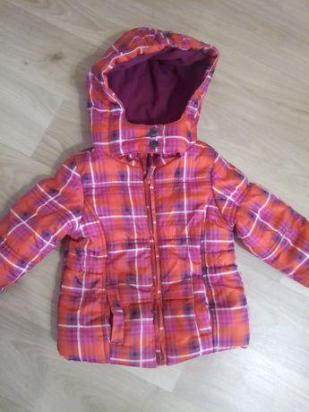 Topomini яркая осенняя куртка для девочки