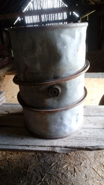 Beczka na ropę, ON 200 litrów, na piec - koza, trociniak, warsztat
