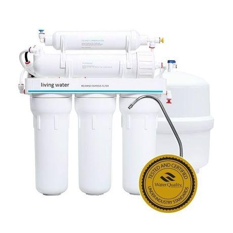 Установка и обслуживание систем питьевой воды обратным осмосом.