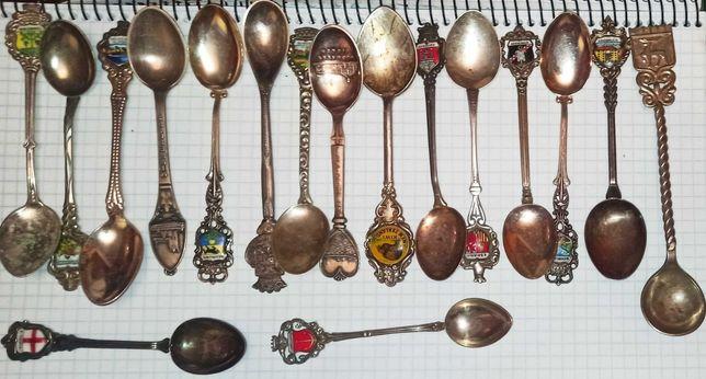 Ложки сувенирные серебро детские