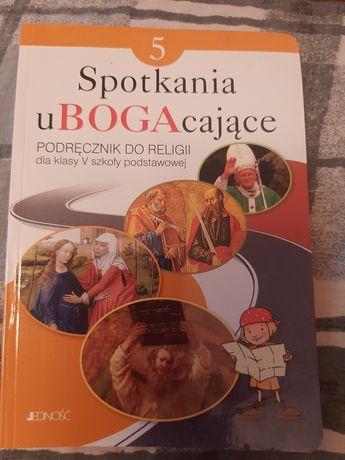 Książka do religii dla klasy 5. Spotkania uBOGAcające