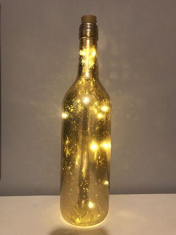 Świecąca butelka