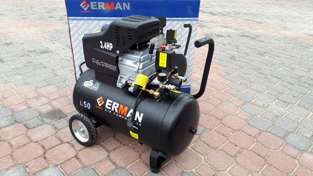 kompresor 50L sprężarka 50L Erman 8bar Nowa!!! GERMANY