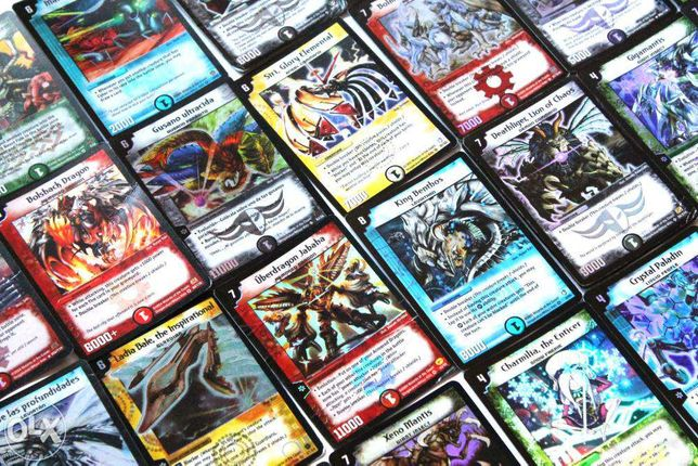 Mais de 1500 cartas Duel Masters