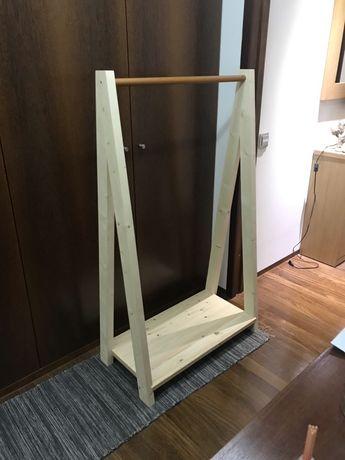 Charriot/bengaleiro em madeira