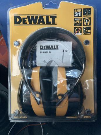 Nauszniki z radiem Dab -FM DEWALT