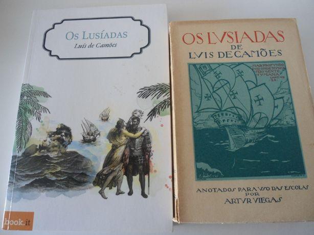 Luís de Camões - Os Lusíadas (2 exemplares)