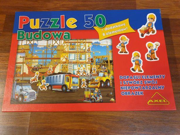 Puzzle Axel Budowa maxi 50 elementów