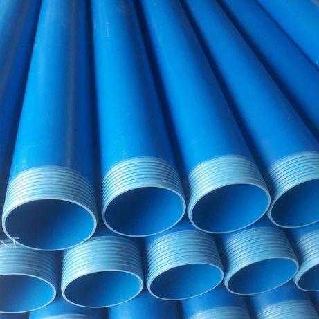 Rury studzienne gwintowane PVC Ø110, Ø125, Ø160, Ø225 PRODUCENT