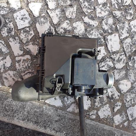 Caixa filtro de ar e massa de ar Mercedes w124 w201
