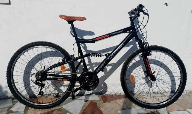 Bicicleta Orbea como nova -Suspensão total-Roda 26 (adulto)