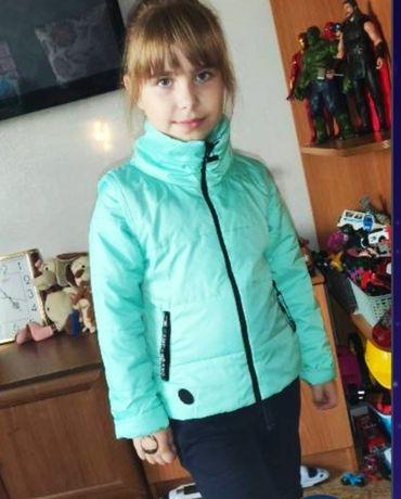 Куртка - жилетка на девочку весна, осень, деми