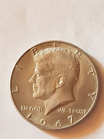 Half Dollar srebro
