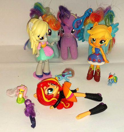Laleczki My Little Pony EQUESTRIA + inne