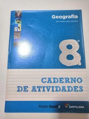 Caderno de atividades geografia 8ºano