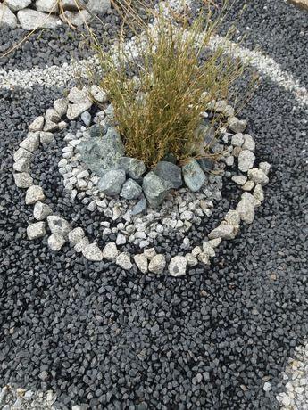 Grys bazaltowy 11-16 ogród dekoracja nawierzchnia