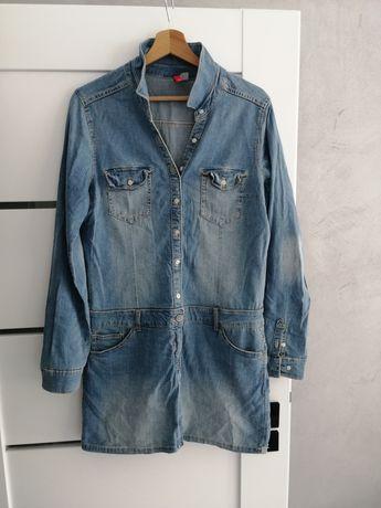 Sukienka jeansowa h&m rozm 40