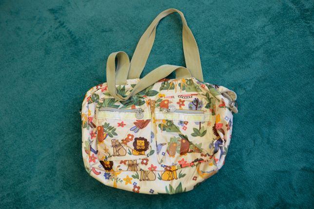 Женская сумка на лето из ткани