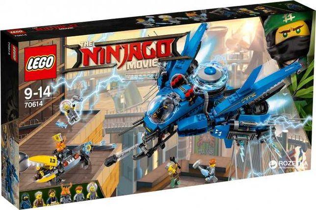 Lego (Лего) Ninjago Movie Літак-блискавка Джея 70614