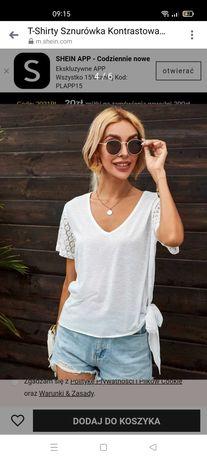 NOWA Bluzka t-shirt SHEIN s