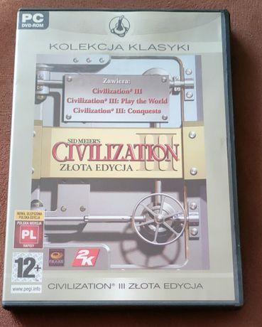 Gra Civilization III Złota Edycja Kolekcja Klasyki UNIKAT